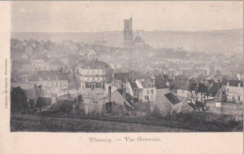 Clamecy - Vue générale - Clamecy.
