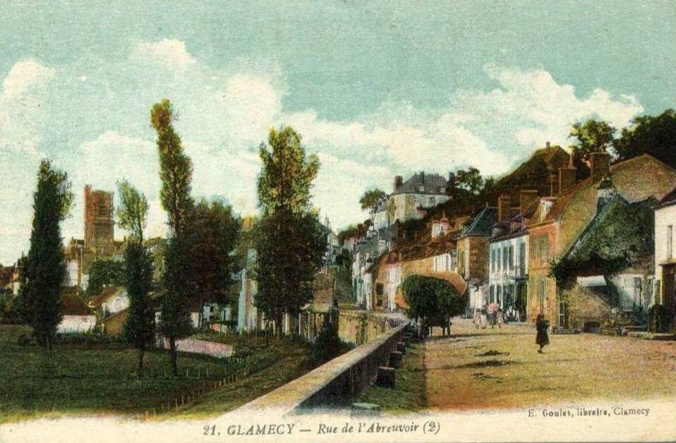 CLAMECY - Rue de l'Abreuvoir et Rue de l'Hospice - CLAMECY