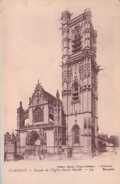 CLAMECY - Eglise Saint-Martin - CLAMECY.