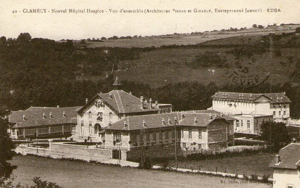 Clamecy - Boutiques clamecycoises, Alliance sportive, Hôpital-hospice - Clamecy.