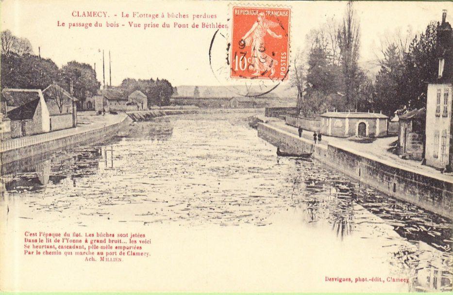 CLAMECY - Le Flottage - CLAMECY