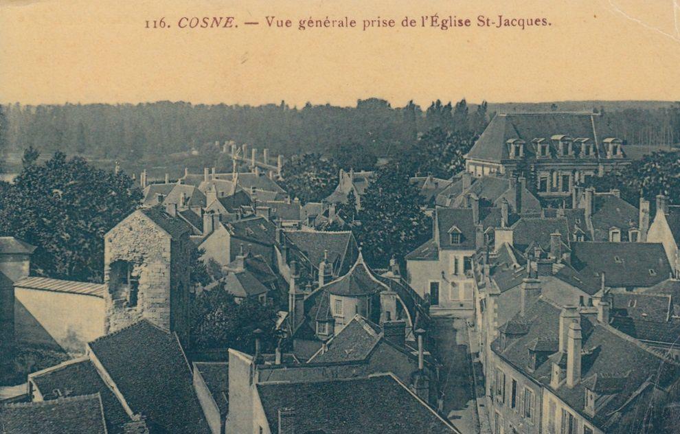 Cosne-sur-Loire - Vue générale - Cosne-sur-Loire