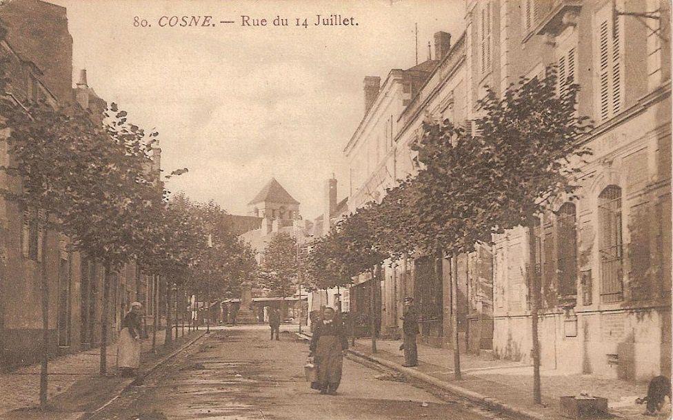 Cosne-sur-Loire - Rue du 14 juillet - Cosne-sur-Loire -