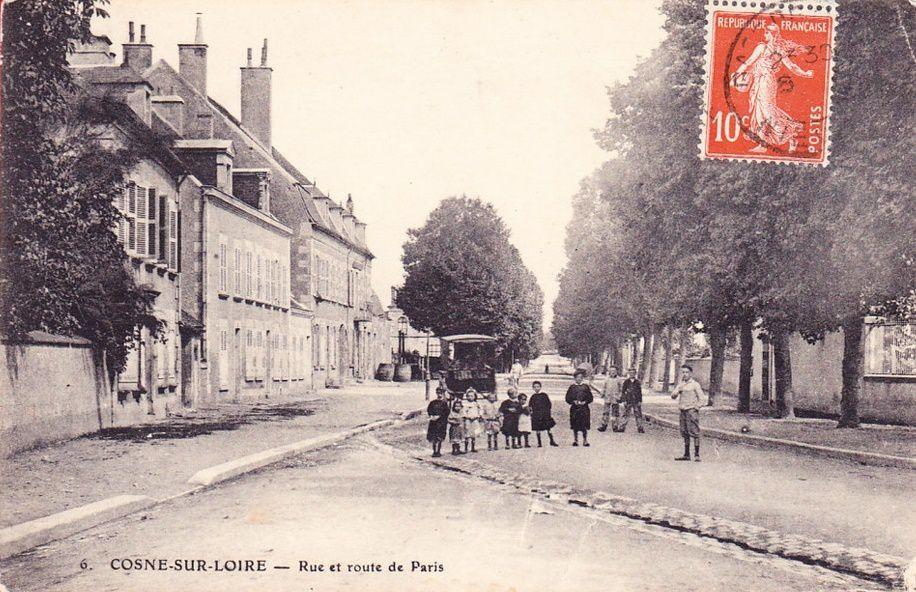 Cosne-sur-Loire - Rue de Paris - Cosne-sur-Loire.