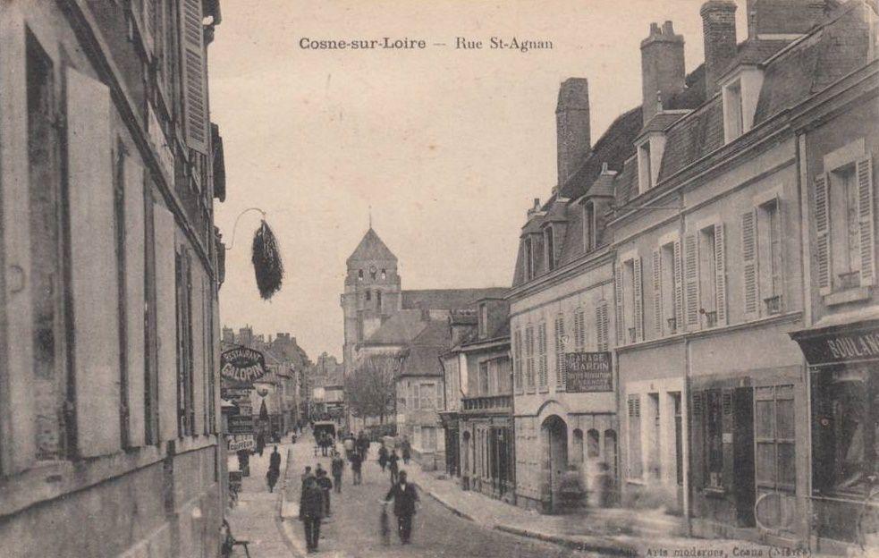 Cosne-sur-Loire - Rue Saint-Agnan - Cosne-sur-Loire.