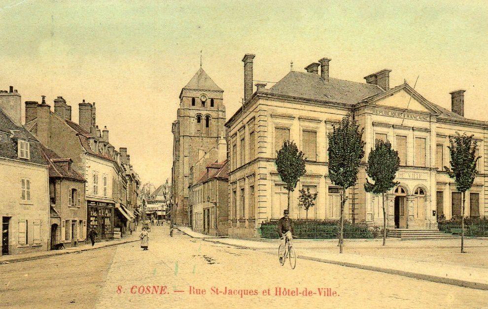 Cosne-sur-Loire - Rue Saint-Jacques - Cosne-sur-Loire