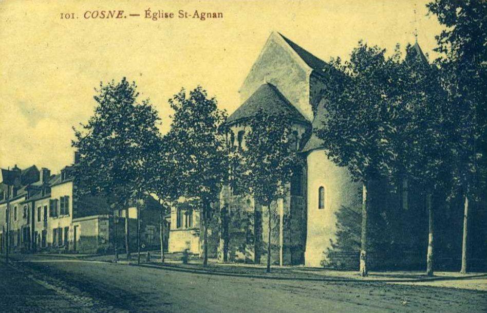 Cosne-sur-Loire - Eglise Saint-Agnan - Cosne-sur-Loire