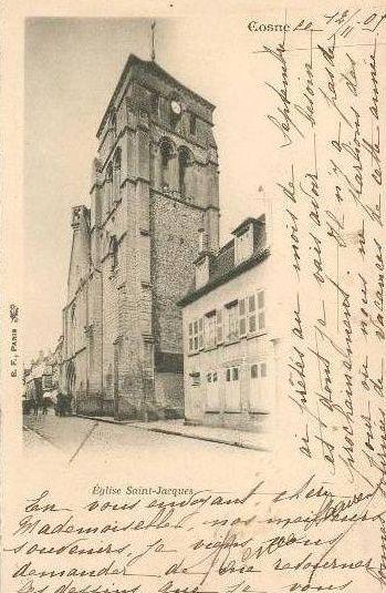 Cosne-sur-Loire - Eglise St Jacques - Cosne-sur-Loire
