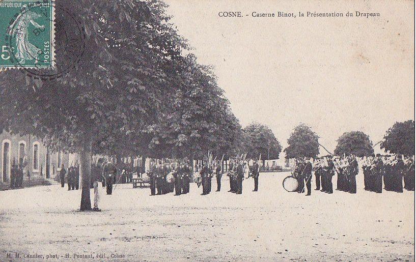 Cosne-sur-Loire - Caserne Binot - Cosne-sur-Loire