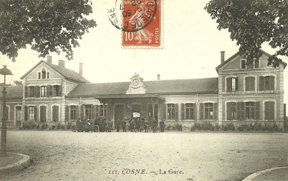 Cosne-sur-Loire - la Gare - Cosne-sur-Loire