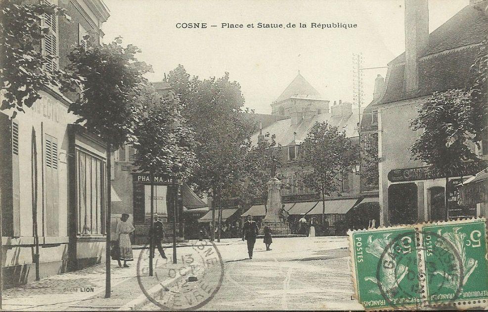 Cosne-sur-Loire - Boulevard de la République - Cosne-sur-Loire