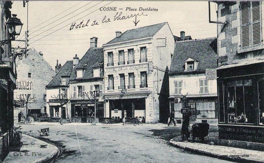 Cosne-sur-Loire - Rue de Donzy, Rue des Frères Gambon, Rue de Veaugues, Impasse de l' Annonciale et divers - Cosne-sur-Loire