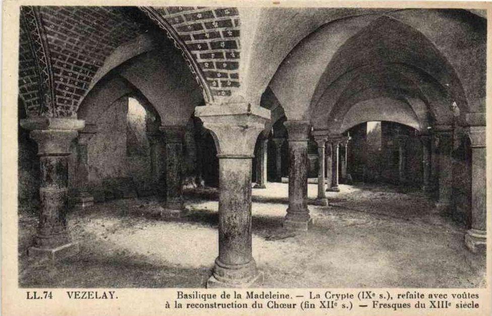 Vézelay - Basilique de la Madeleine - Vézelay.