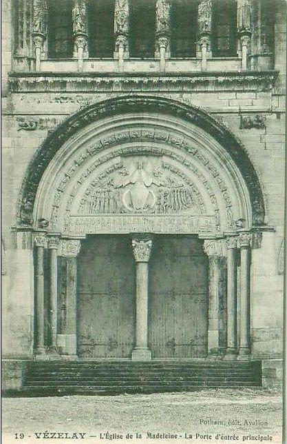 Vézelay - Basilique de la Madeleine (XIe et XIIe siècle) - Vézelay.