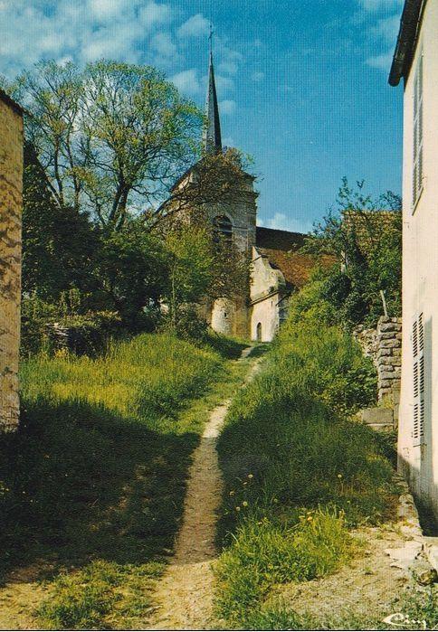 Asquins - L'église, le rendez-vous de chasse - Asquins.