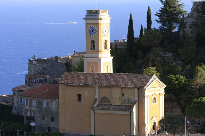 Eglise d'Eze village