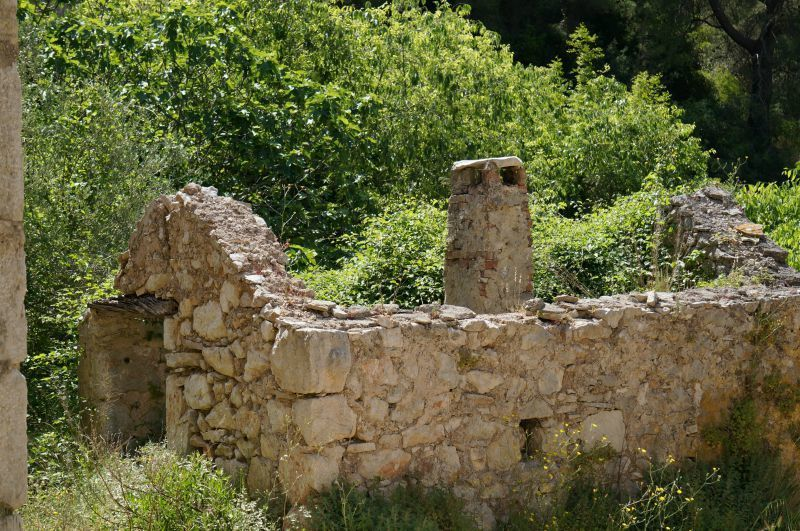 ruine du village de Malo Grabjle