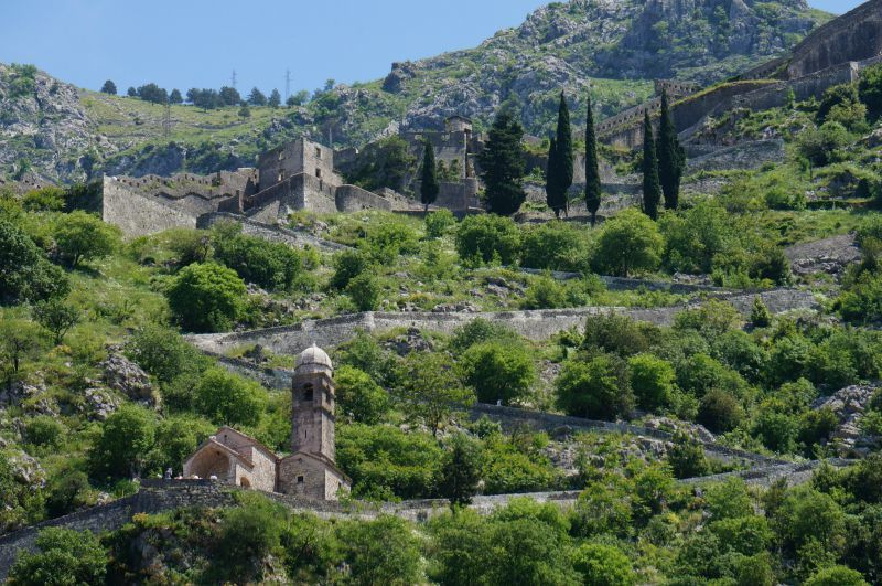 La forteresse de Kotor