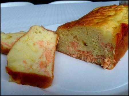 Cake saumon fumé et mozzarella