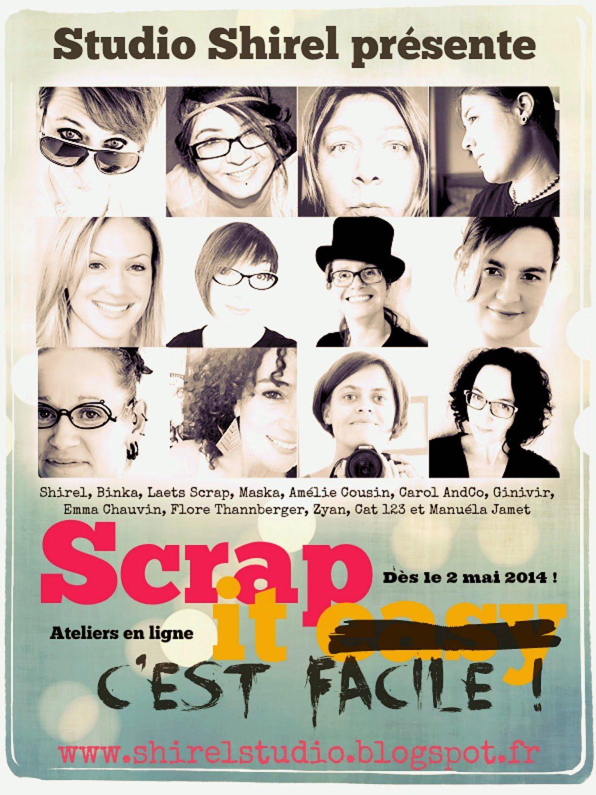 Participation à l'atelier Scrap it Easy