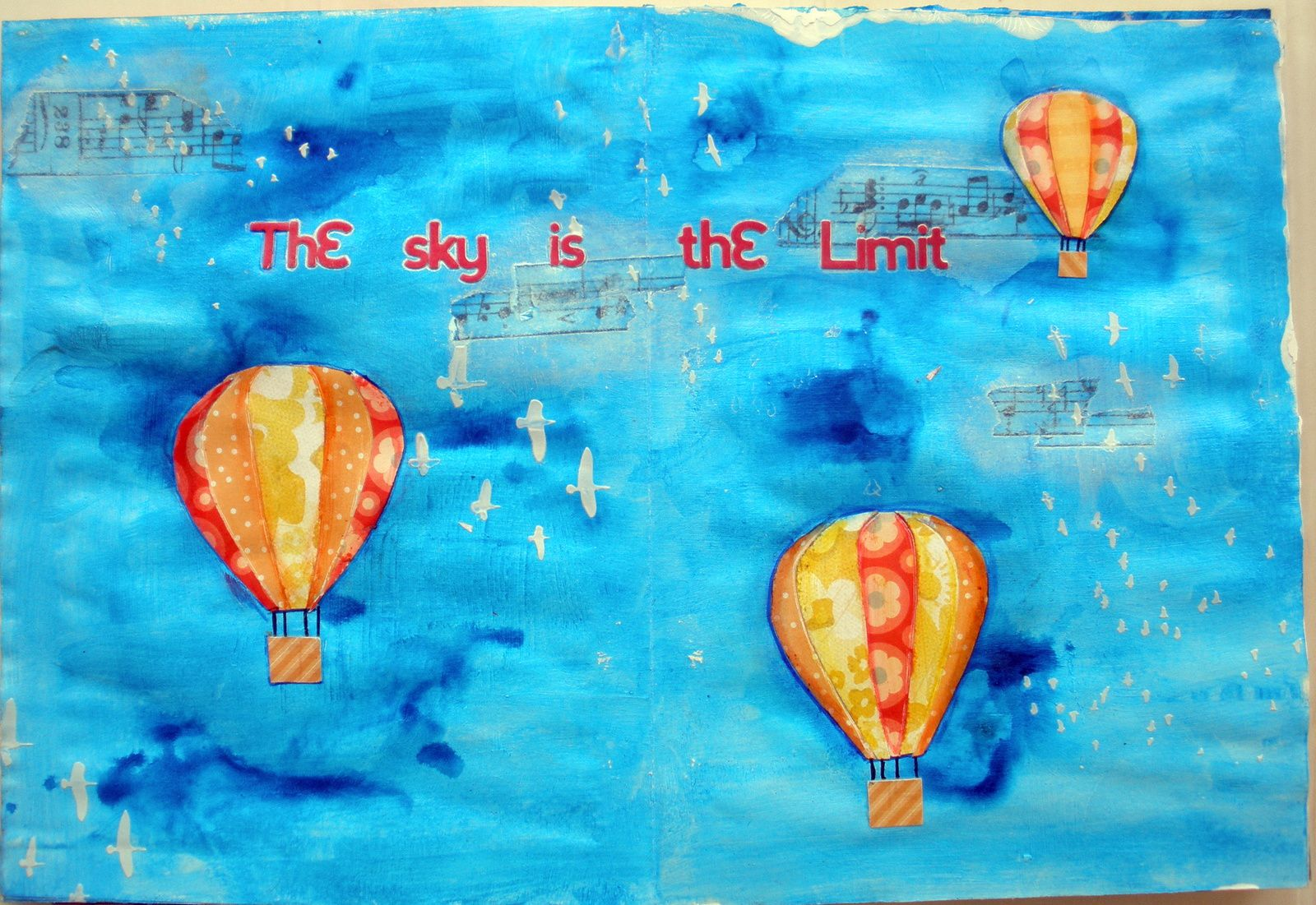 Art journal 3 _ The sky is the limit !!