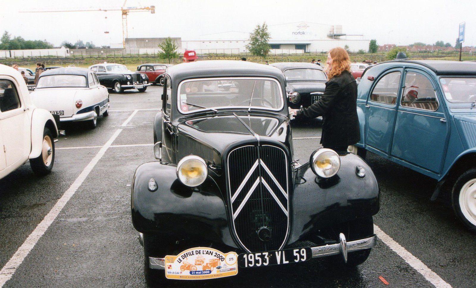Défilé de l'An 2000 dans le nord