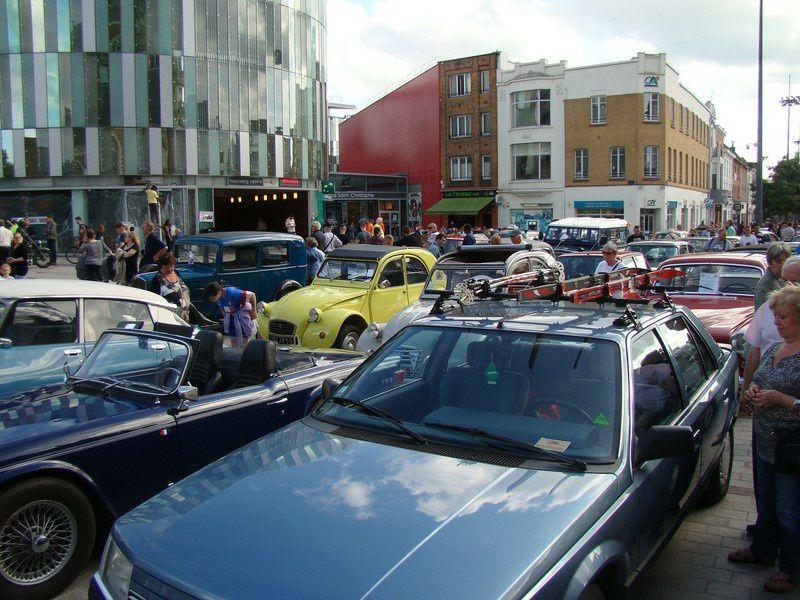 Tourcoing 2016, bénèdiction voitures ancienne