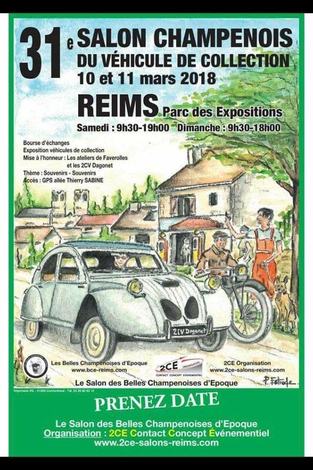 Reims 2018....sur vos agendas