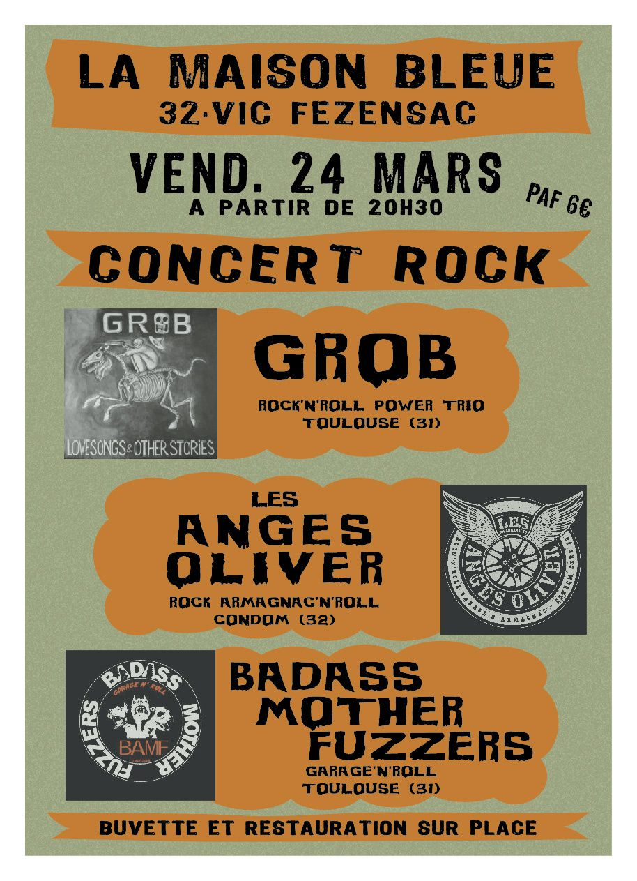 Le 24 mars vic fezensac 32 avec les anges olivers te for O garage toulouse