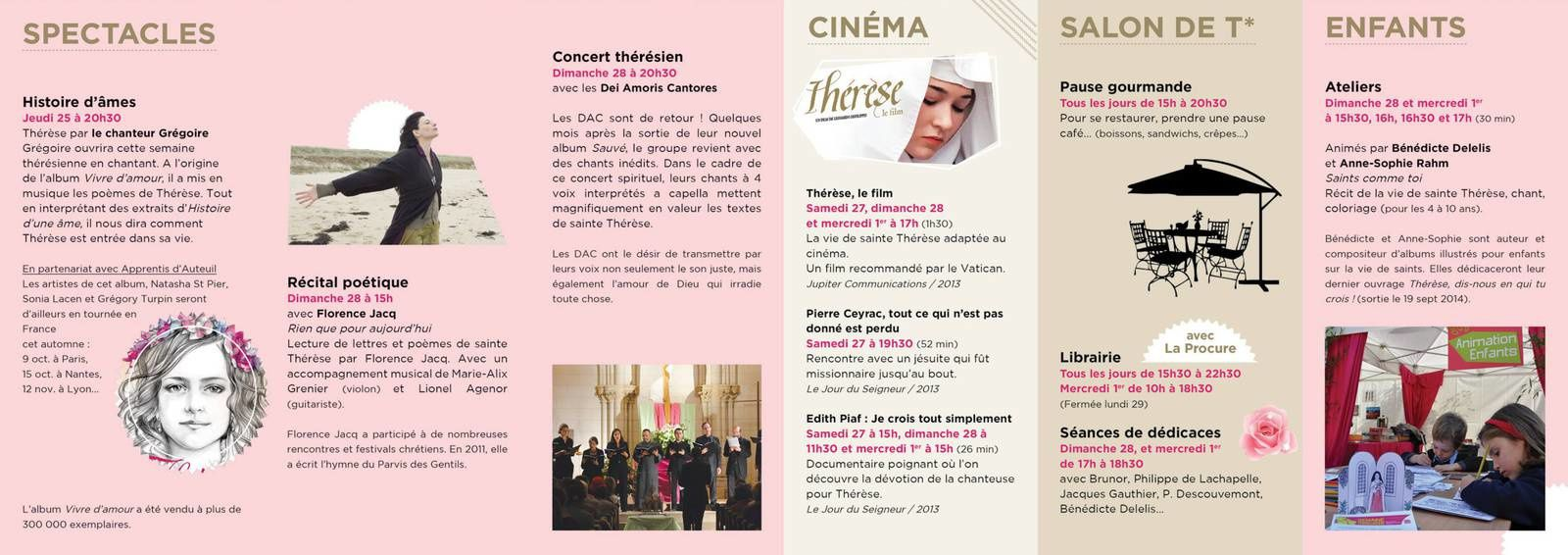 Semaine Theresienne 2014 Fondation d'Auteuil