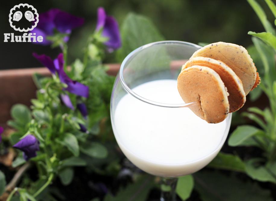 [ RECETTE FLUFFIE ] Mini pancakes aux graines de pavot pour le goûter !