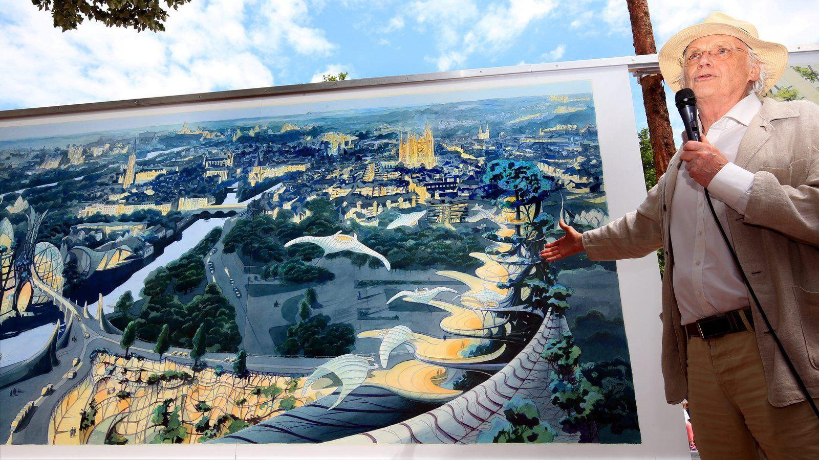 Exposition Luc Schuiten à Metz