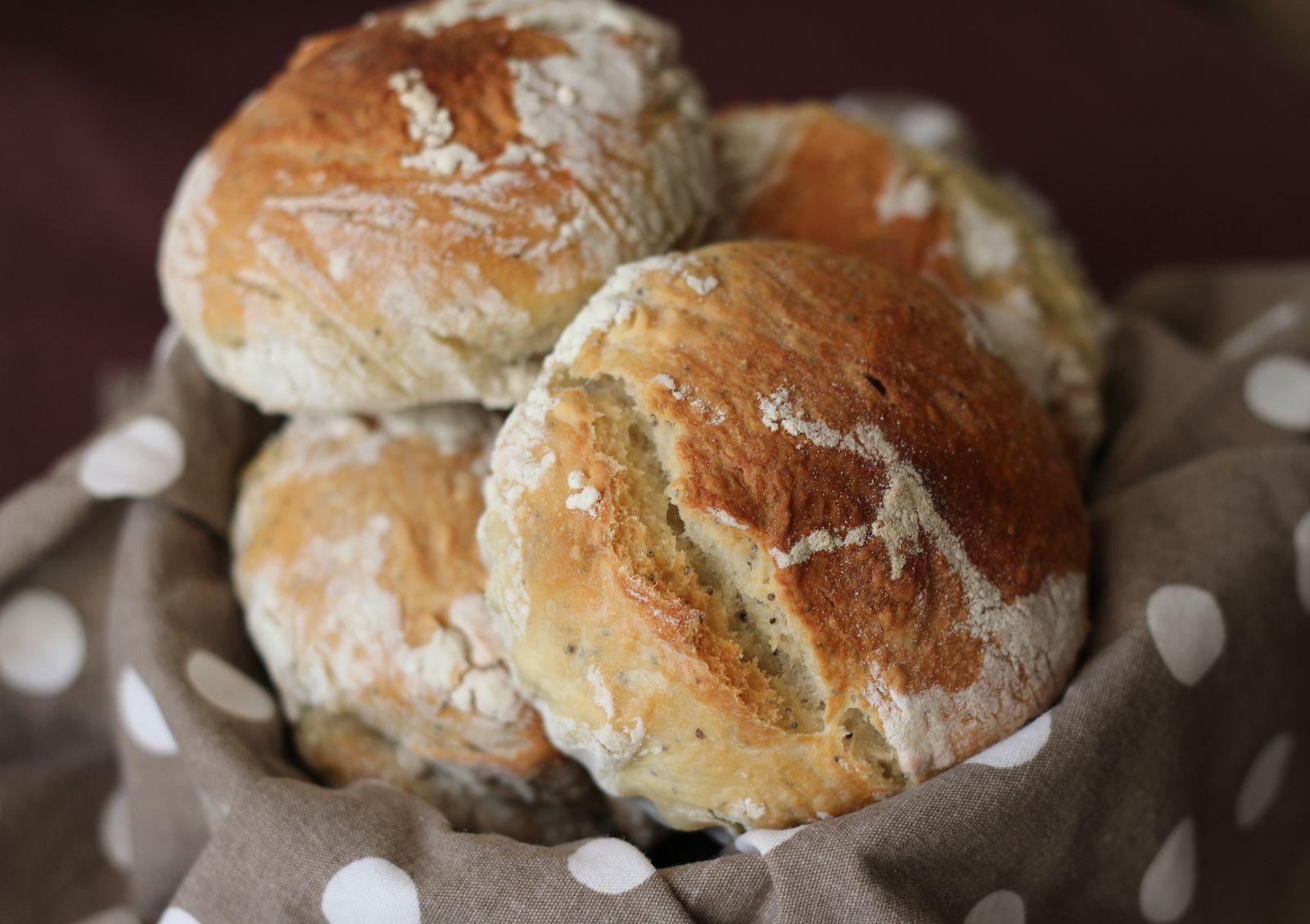 Petits pains au pavot...