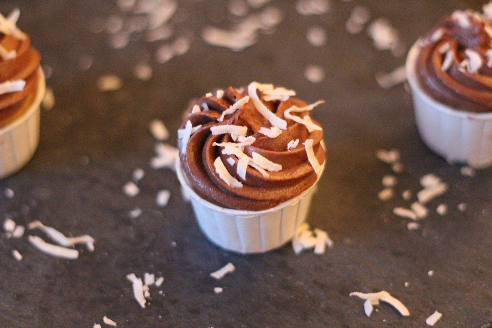 Cupcakes choco-coco...