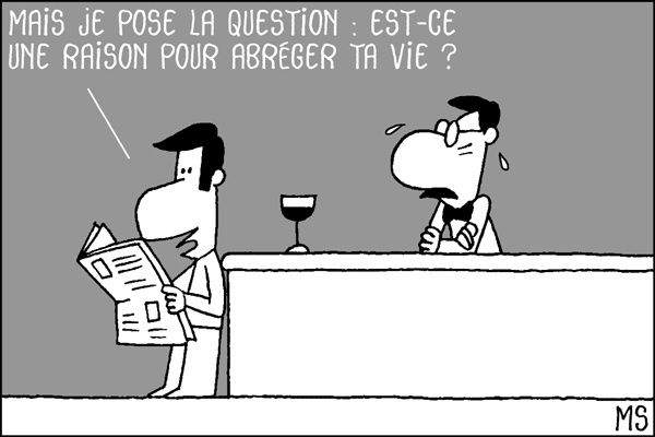 Discussion de bistrot