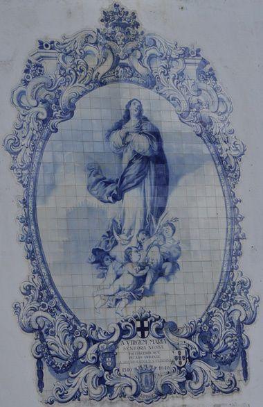 Azulejo - Igreja de Nossa Senhora do Carmo, Guimarães