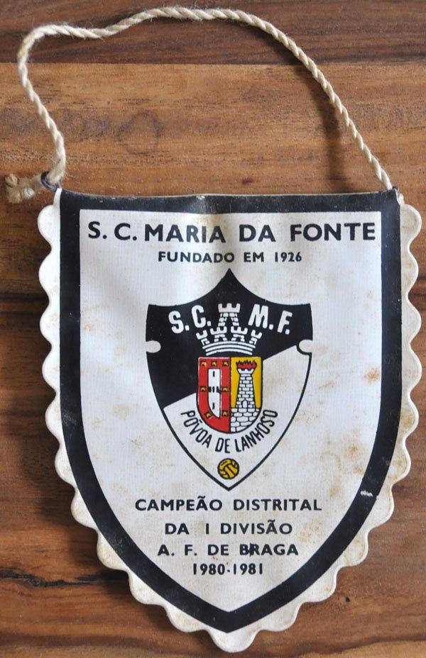 S.C. M. F. : Galhardete, Campeão Distrital da 1 divisão A.F. de Braga 1980-1981