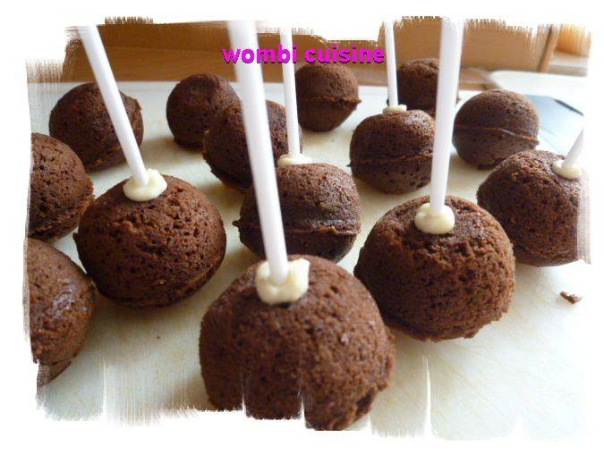 Pop cakes au chocolat