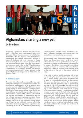 Afghanistan: charting a new path