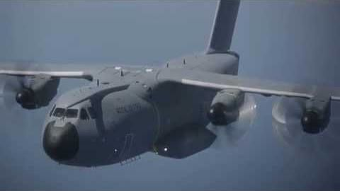 First Royal Air Force A400M makes its maiden flight
