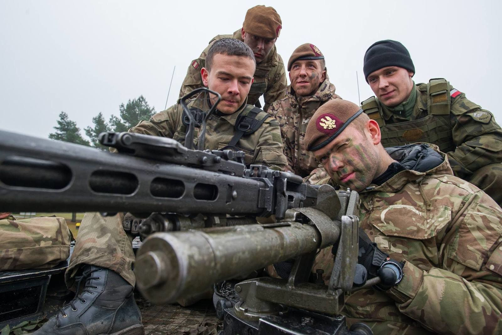 UK troops conduct joint exercise in Poland