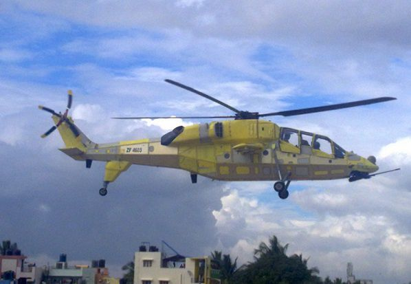 HAL's third LCH prototype conducts maiden flight