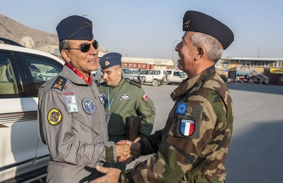 Afghanistan : Arrivée du Major General Bakir à KAIA