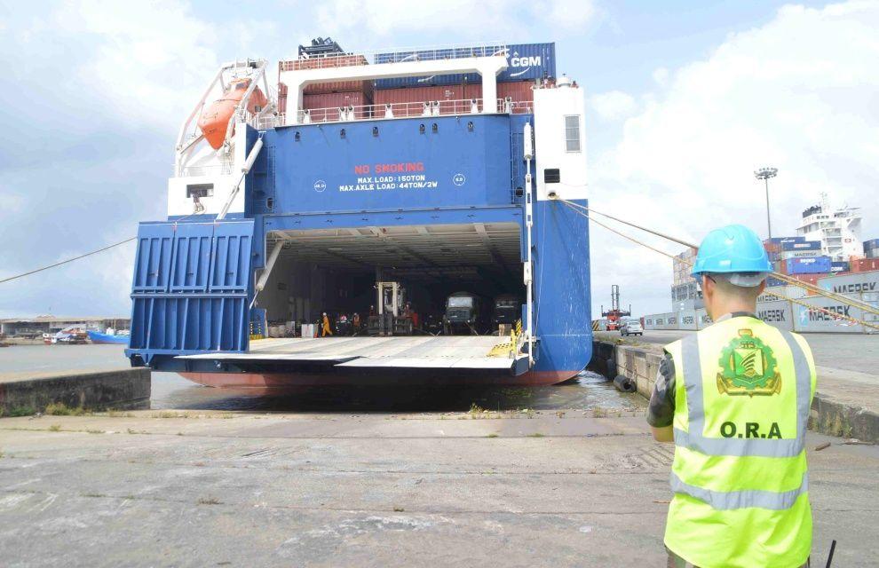 Côte d'Ivoire : manœuvre logistique d'envergure pour la force Licorne