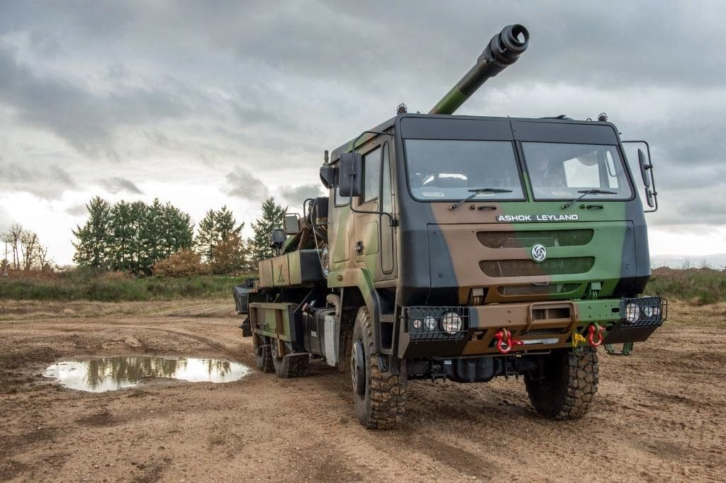 Decks Cleared For Indian Truck-Mounted 155mm Gun Competition