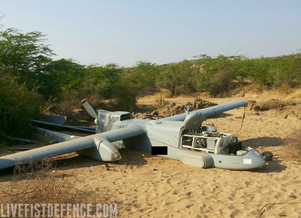 Drone Down! Indian Heron UAV Crashes