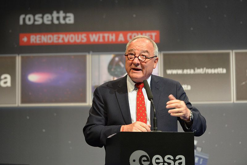 Jean-Jacques Dordain, ESA Director General - photo ESA