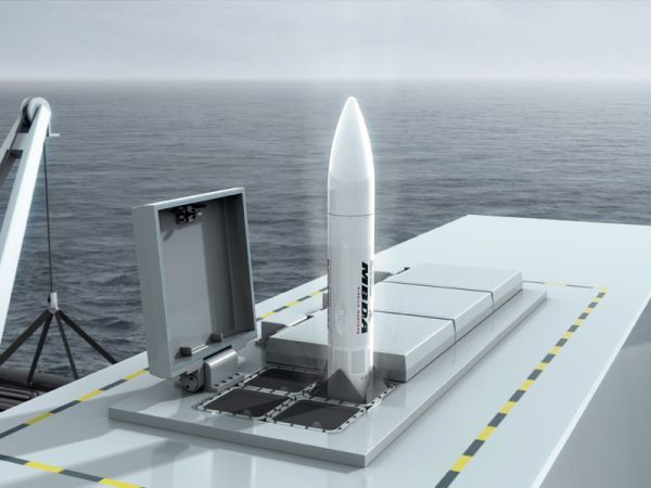 Brazil Picks MBDA's Sea Ceptor for New Corvettes