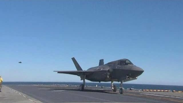 Office of Naval Research Receives Achievement Award for F-35 Innovations
