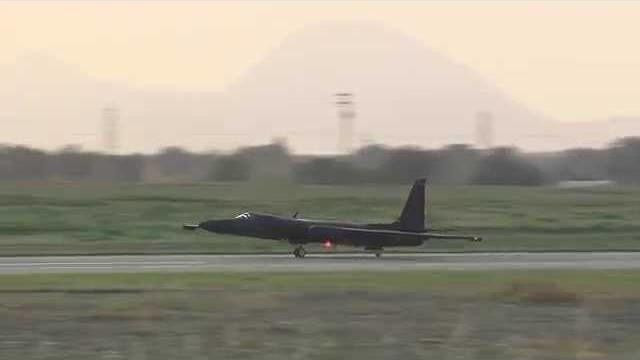U-2 Dragon Lady Takeoffs & Landings at Beale AFB